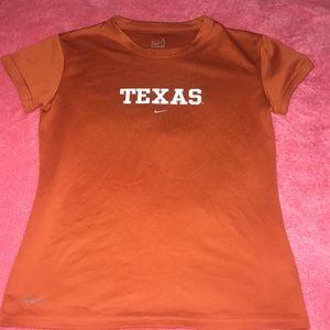 Texas Nike Fit Shirt